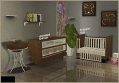 Modern nursery at BPS by AngelamvEliza - always thought I got this from TSR!