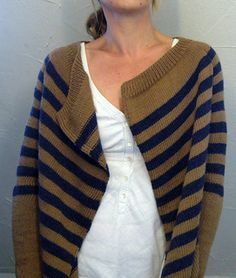 caramel a simple and easy blanket style cardigan  worked from top down free Ravelry download