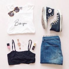 Denim. Converse. Style. Fashion.