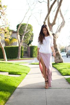 love this skirt and shoes