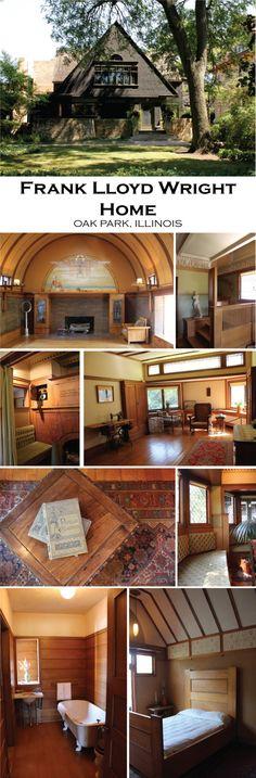 Frank Lloyd Wright Home and Studio. Oak Park, Illinois. 1889-1898