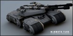 The Mammoth Tank from Command & Conquer! Mammoth Tank I Futuristic Cars, Futuristic Design, Sci Fi Ships, Tank I, Engin, Tank Design, Battle Tank, World Of Tanks, Military Weapons