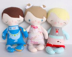 SALE Wittle Whimsy Harry & Ginny PDF Doll by bitofwhimsyprims