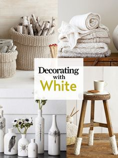 The insider's guide to decorating with our favorite neutral: http://www.countryliving.com/homes/all-about-white-decorating    #white #decorating
