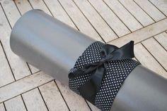 Yogastrik zwart met witte stipjes – YogaThings