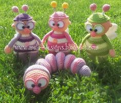 "Find and save images from the ""Handarbeit - Amigurumi / Mochimochi u. Cute Crochet, Crochet For Kids, Crochet Crafts, Yarn Crafts, Crochet Baby, Crochet Projects, Crochet Toys Patterns, Amigurumi Patterns, Stuffed Toys Patterns"