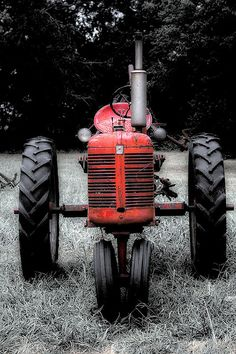 Old Red Tractor, we used to have one of these!