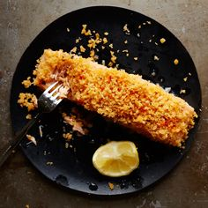Buttery Bread Crumb Baked Salmon   Food & Wine