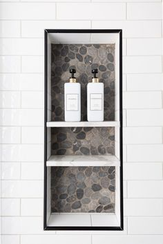 Bathroom of the Week: Curbless Shower and an Aqua Vanity Maple Cabinets, Room Tour, Bathroom Medicine Cabinet, Master Bathroom, Modern Farmhouse, House Design, Shower, Phoenix