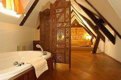 Themed luxury attic  bedroom!
