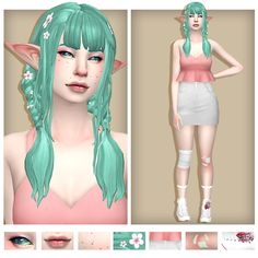 chaotic and stupid Los Sims 4 Mods, Sims 4 Body Mods, Sims 4 Mm Cc, Sims Four, Sims 4 Mods Clothes, Sims 4 Clothing, Maxis, Sims 4 Anime, Pelo Sims