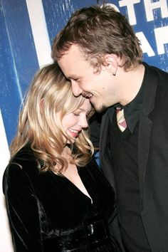 Michelle Williams and Heath Ledger Just Like Us? The 19 Best Red Carpet PDA Moments #refinery29