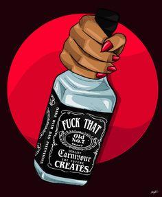 "Stream Lil Uzi Vert x Migos 808 Type Beat - ""Madness"" Prod. Black Girl Art, Black Art, Art Girl, Arte Dope, Dope Art, Trill Art, Art Tumblr, Hip Hop Art, Pulp Art"