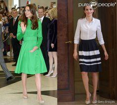 Fãs do trench coat, Kate Middleton e Leticia Ortiz usam e abusam da peça