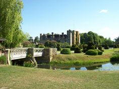Hever Castle, the family home of the Boleyns