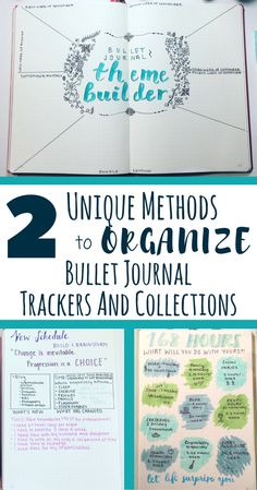 Two incredible ideas to help you organize your bullet journal trackers and collections. Easy and simple to implement to make your bullet journal more optimized and efficient.