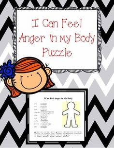 To teach students one way to manage their anger,use this puzzle, I Can Feel Anger in my Body, to unscramble and identify the different body parts and how they react when a person is getting angry.  When students recognize their body giving them clues that they are getting angry, they can then implement strategies to calm down.