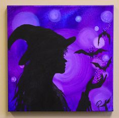 Lux Renascentiae Light of Rebirth  Witchy Painting by raventalker, $39.95