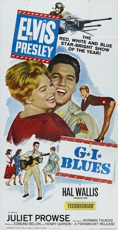 Elvis Movie Poster - G.I.Blues - 1960