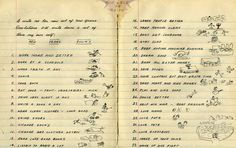 Is this New Year's Resolution list from 1943 the best ever?