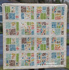 Tatami Mat quilt   Lunden Designs