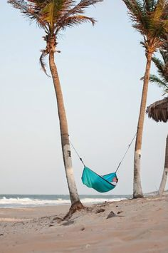 Beach Hammock Relaxing | Incredible Pics   - Explore the World with Travel Nerd Nici, one Country at a Time. http://TravelNerdNici.com