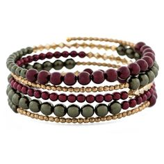 Love the rich colors of our Glistening Holiday Bracelet. It is perfect for the Holidays! FusionBeads.com