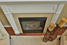 69 Avery Cres. - Fireplace