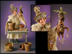 Professor Sprout Mistress of Magical Herbology - Jodi & Richard Creager.