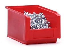 Small Open Fronted Parts - Component Storage Plastic Order Picking Bin