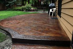 stamped concrete patio designs | CMDT Systems - Decorative Stamped Concrete Patios in Vancouver, Lower ...