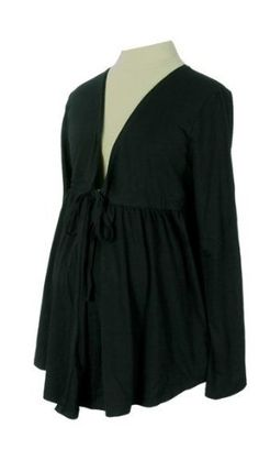 Lilo Maternity Long Sleeved Tie Front Top Black XXL by Lilo Maternity. $44.00. Top Quality Children's Item.. Made with the Best Quality Material with your child in mind.. Lilo Maternity knows how expectant women feel because our company was started and continues to be run by women who have gone through the pregnancy experience. As your body goes through changes, it becomes more difficult to find comfortable clothing without compromising your sense of style. It is for t...