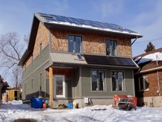 Canada's Greenest Home nears completion