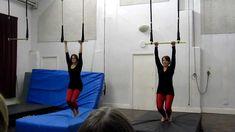 Beginner Trapeze routine