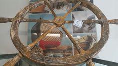 Large ships wheel at Coastal Funk