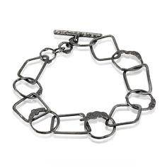 Opposites Oxidised Bracelet.  www.kirstenhendrich.com