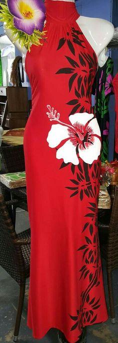Samoa More Hawaiian Fashion, Tropical Fashion, Tropical Dress, Samoan Designs, Polynesian Designs, Island Wear, Island Outfit, Samoan Dress, Hawaian Party