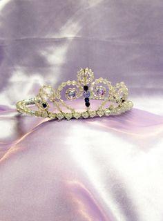 Disney Princess Sofia, Sofia The First Inspired Crown Tiara for dress up, Halloween, Birthday,. $45.00, via Etsy.