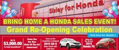 Bring Home Honda Event