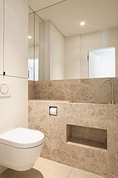 Bathroom in Hooglede Belgium by Het Atelier