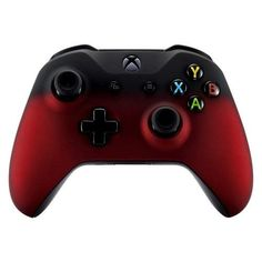 Brand New Xbox One S controller in retail packaging, which features the audio jack Custom Xbox One Controller, Xbox Controller, Xbox One S, Xbox One Games, Fade To Black, Red Black, Control Xbox, Manette Xbox One, Consoles