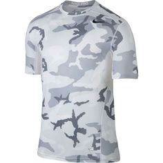 Nike Pro Men's Hypercool Fitted Camo Shirt In Large Nike Mens Shirts, Men's Shirts, Nike Shirt, Casual Shirts For Men, Men Casual, Compression Clothing, Hipster Shirts, Comfy Hoodies, Sport T Shirt