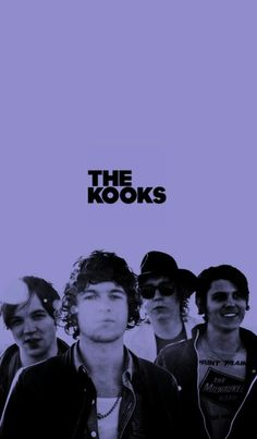 black, purple, and the kooks by annabeth The Kooks, We Heart It, My Life, Bands, Take That, Wallpapers, Memories, Purple, Movie Posters