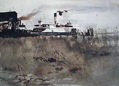 Andrew Wyeth - New Castle Ferry