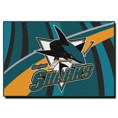 """San Jose Sharks 39"""" x 59"""" Rug"""