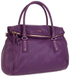 Kate Spade. love a big bag, and its purple! #favoritecolor
