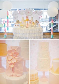 {Flower Inspired} Pretty Pastel First Birthday Party