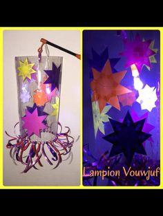 Lampion van lamineer plastic