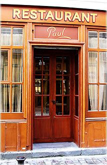 """Chez Paul ~ A """"true Parisian vibe"""" pulses at this 1940s-era bistro near the Bastille favored by locals and """"well-informed tourists"""", where the resolutely """"traditional"""", """"no-frills"""" cooking (eggs with mayo, marrow bones, steak with shallots) is """"comme à la maison"""", """"only better"""" – and not all that much more expensive; a """"competent"""" staff works a """"classic"""" space so perfectly preserved it'd please a """"location scout"""" for a """"WWII"""" film. #Paris #Bistro"""