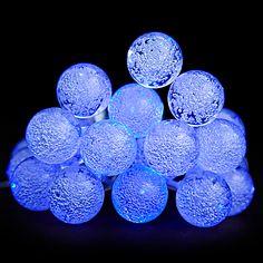 John Lewis LED Colour Changing Bubble Christmas Lights